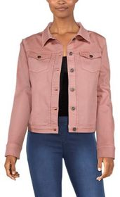 Bob Timberlake Colored Denim Jacket for Ladies