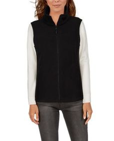 Natural Reflections Zip-Up Fleece Vest for Ladies