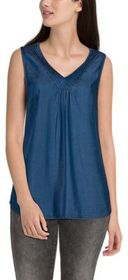 Natural Reflections Lyocell Pintuck Tank Top for L
