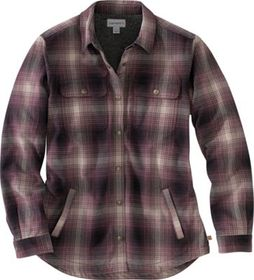 Carhartt Hubbard Sherpa-Lined Shirt Jac for Ladies
