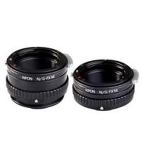 Kipon Macro Lens Mount Adapter with Helicoid for N