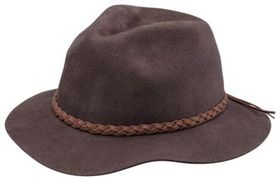 Dorfman Pacific Scala Classic Wool Safari Hat for