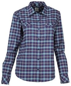 Ascend Trek II Flannel Long-Sleeve Shirt for Ladie