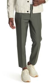 Valentino Straight Leg Wool Blend Pants