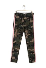 Valentino Camo Stripe Straight Leg Trousers