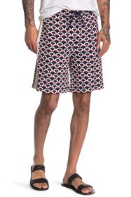 Valentino Pattern Board Shorts