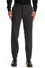 Valentino Textured Wool Blend Trousers