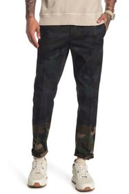 Valentino Camo Pleated Slacks