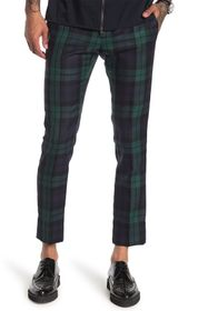 Valentino Plaid Dress Trousers