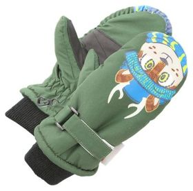 Grand Sierra Deer Critter Insulated Mittens for To