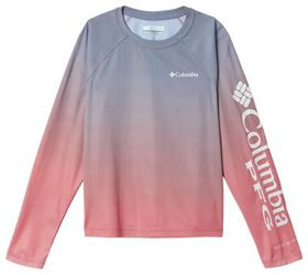 Columbia Solar Chill Printed Raglan Long-Sleeve T-
