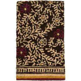 "Bambeco Natural Coir Branches Doormat - 18x30"" in"