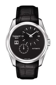 Tissot Men's Couturier Automatic Embossed Leather