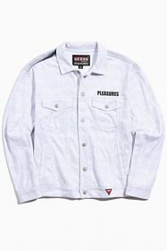 GUESS ORIGINALS X Pleasures Printed Denim Trucker