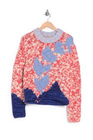 Burberry Marled Knit Sweater