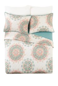 Jessica Simpson Pompeii King Quilt 3-Piece Set