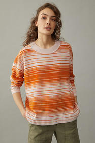 Anthropologie Pilcro Angie Seamed Cashmere Sweater