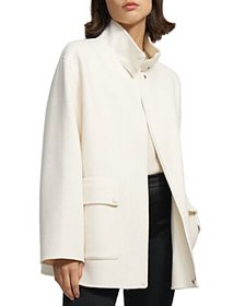 Theory - Double Face Wool & Cashmere Coat