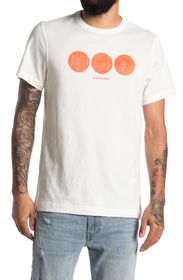 G-STAR RAW Circle Object Graphic Crew Neck T-Shirt