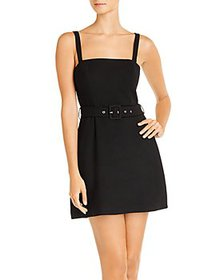 FRENCH CONNECTION - Belted Mini Dress - 100% Exclu