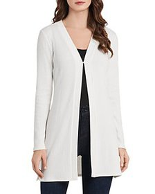 VINCE CAMUTO - Ribbed Cardigan