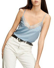 The Kooples - Silk Lace Detail Camisole