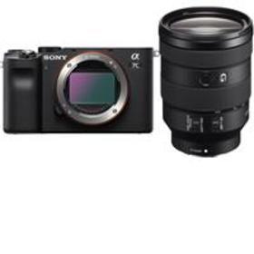Sony Alpha 7C Mirrorless Camera, Black with FE 24-