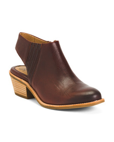 Leather Comfort Clogs