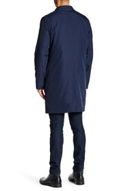 Cole Haan Solid Trench Rain Coat