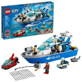 LEGO City Police Patrol Boat 60277 Cool Police Toy