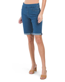 Pull On Rolled Cuff Shorts