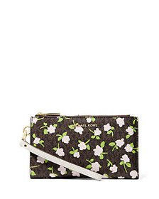 MICHAEL Michael Kors - Jet Set Double Zip Wristlet