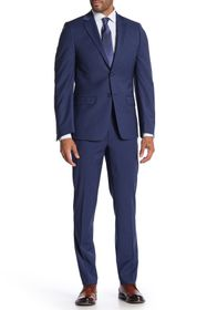 Calvin Klein Twill Blue Skinny Fit Suit Separate P