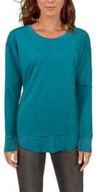 Natural Reflections Burnout Long-Sleeve Tunic for