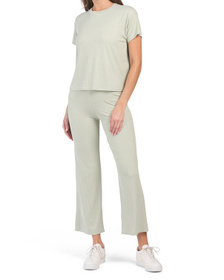 Juniors Rib Flare Pant Collection