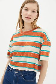 BDG Twin Flame Cropped Tee