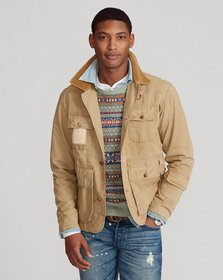 Ralph Lauren Shearling-Patch Wading Jacket