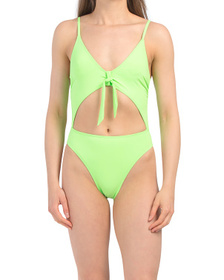 Made In Usa Glam One-piece Swimsuit