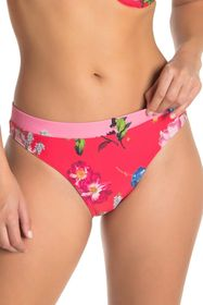 Ted Baker London Floral Colorblock Bikini Bottoms