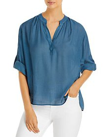 Brochu Walker - Jaxon Roll Tab Sleeve Top