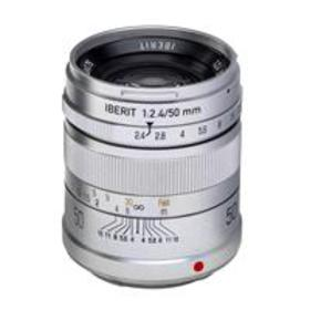 Kipon IBERIT 50mm f/2.4 for Sony E (Silver)