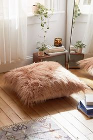 Mila Faux Fur Floor Pillow