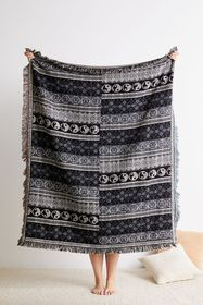 Perrie Woven Throw Blanket