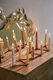 Paxon Centerpiece Taper Candle Holder