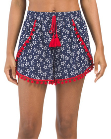 Americana Star Cover-up Shorts