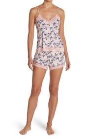 Jessica Simpson Printed Cami & Shorts Pajama Set