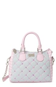 Betsey Johnson Amelia Quilted Mid Size Satchel