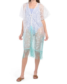 Burnt Out Ombre Swim Cover-up