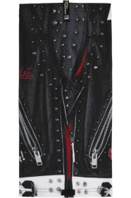 99-is - Black Graphic Long Snood