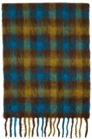 andersson-bell - SSENSE Exclusive Blue & Brown Che